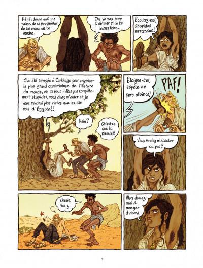 Page 9 Les voleurs de Carthage tome 1 - le serment du Tophet