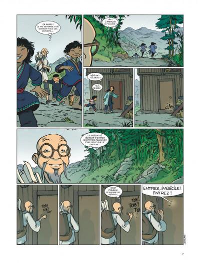 Page 7 les enfants de l'ombre ; une aventure en pays Miao