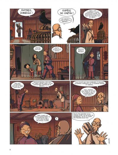 Page 8 les enfants de l'ombre ; une aventure en pays Miao