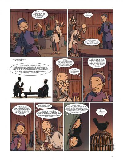 Page 9 les enfants de l'ombre ; une aventure en pays Miao