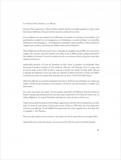 Page 2 La colère de Fantômas tome 1