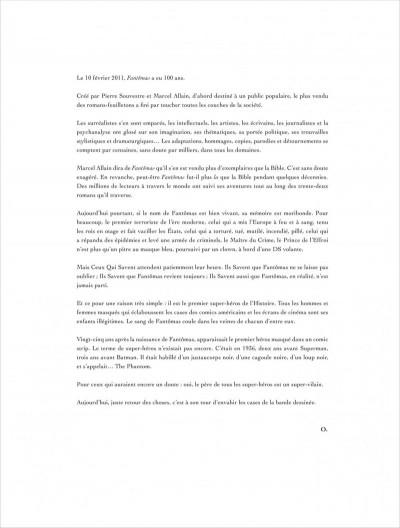 Page 3 La colère de Fantômas tome 1