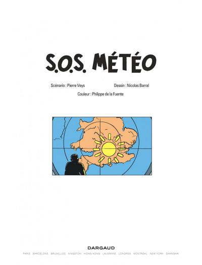 Page 1 Les aventures de philip et francis tome 3 - sos météo
