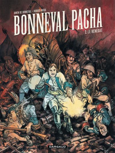 Couverture Bonneval pacha tome 2 - Le Renégat