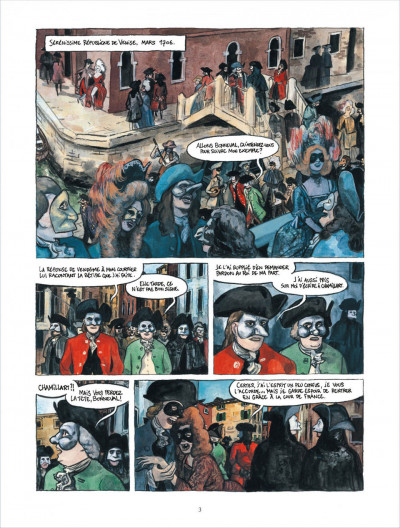Page 2 Bonneval pacha tome 2 - Le Renégat