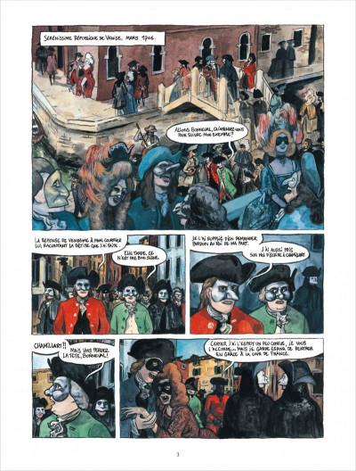 Page 3 Bonneval pacha tome 2 - Le Renégat