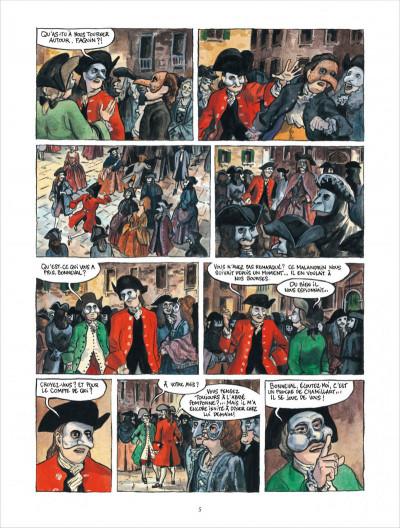 Page 5 Bonneval pacha tome 2 - Le Renégat