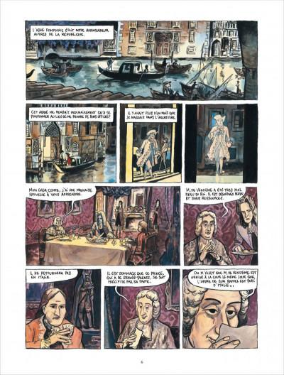 Page 6 Bonneval pacha tome 2 - Le Renégat