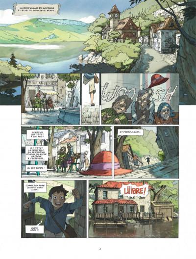 Page 3 Le monde de Milo tome 1