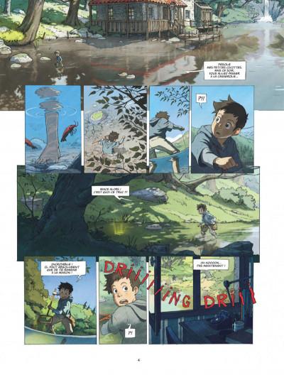 Page 4 Le monde de Milo tome 1