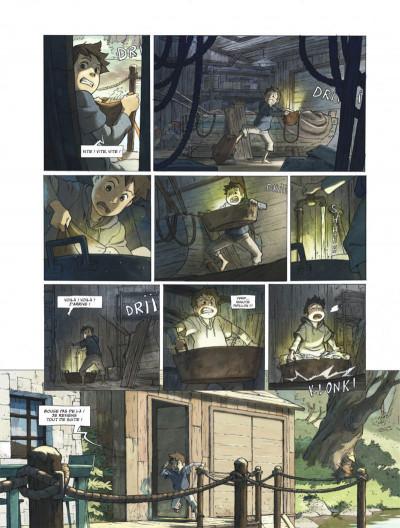 Page 5 Le monde de Milo tome 1