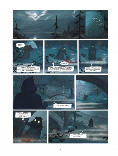 Page 7 Le monde de Milo tome 1
