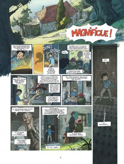 Page 8 Le monde de Milo tome 1