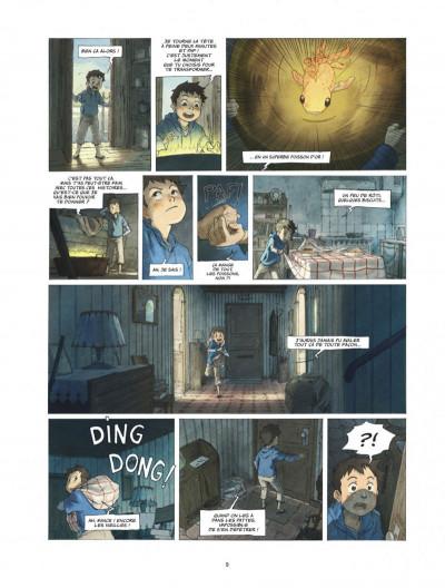 Page 9 Le monde de Milo tome 1