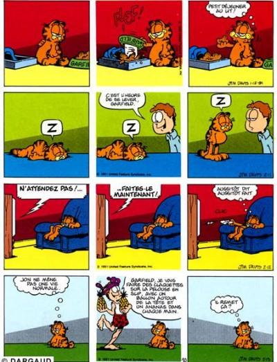 Page 1 Garfield tome 18 - dort sur ses deux oreilles