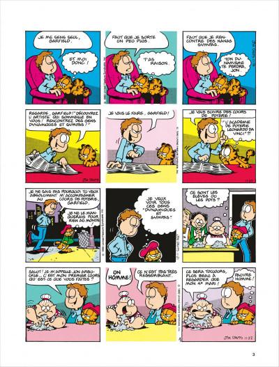Page 3 Garfield tome 18 - dort sur ses deux oreilles