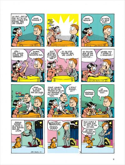Page 5 Garfield tome 18 - dort sur ses deux oreilles