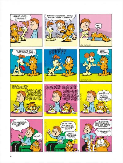Page 6 Garfield tome 18 - dort sur ses deux oreilles
