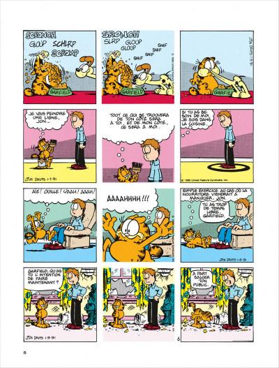 Page 8 Garfield tome 18 - dort sur ses deux oreilles