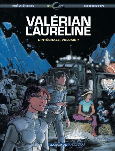 Couverture Valérian et Laureline - intégrale tome 7