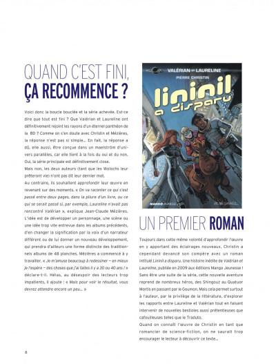 Page 8 Valérian et Laureline - intégrale tome 7