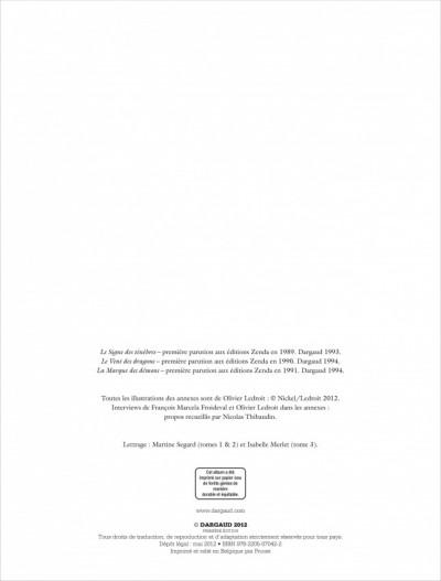 Page 2 Les chroniques de la lune noire - intégrale tome 1