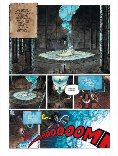 Page 5 Les chroniques de la lune noire - intégrale tome 1