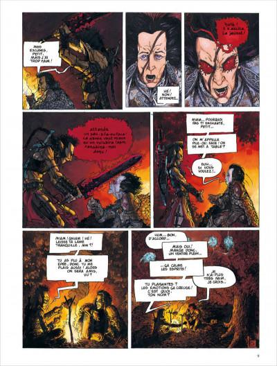 Page 9 Les chroniques de la lune noire - intégrale tome 1