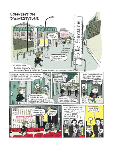 Page 4 campagne presidentielle ; 200 jours dans les pas de François Hollande