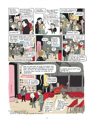 Page 5 campagne presidentielle ; 200 jours dans les pas de François Hollande