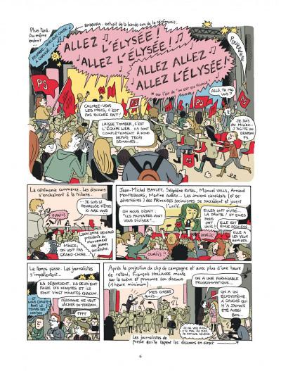 Page 6 campagne presidentielle ; 200 jours dans les pas de François Hollande