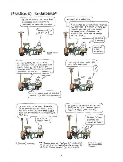 Page 8 campagne presidentielle ; 200 jours dans les pas de François Hollande