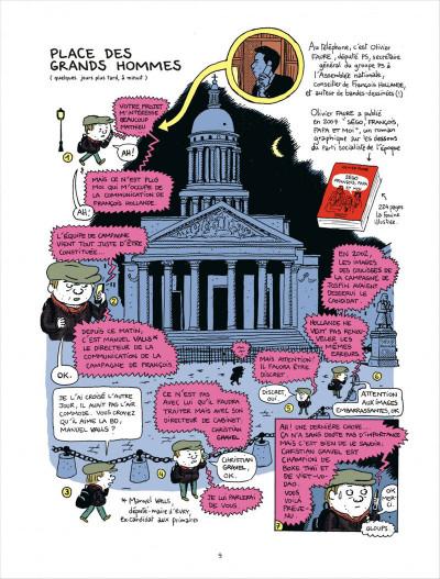 Page 9 campagne presidentielle ; 200 jours dans les pas de François Hollande