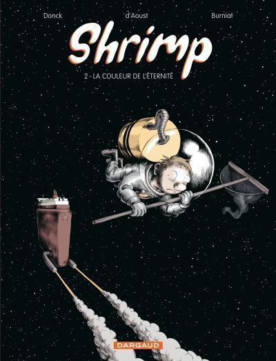 Couverture shrimp tome 2 - la couleur de l'éternité
