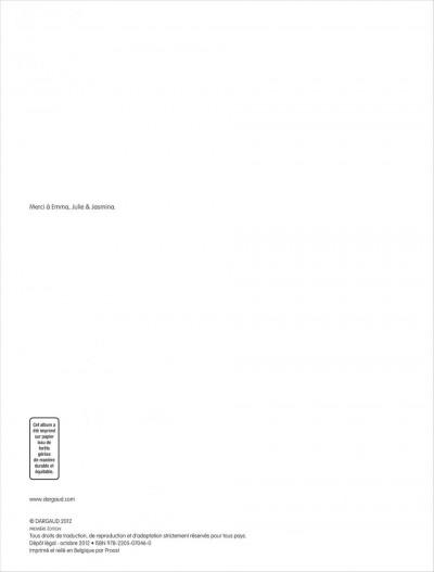 Page 1 shrimp tome 2 - la couleur de l'éternité