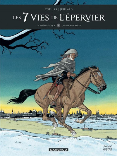 Couverture Les 7 vies de L'épervier - 3ème cycle tome 1