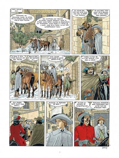 Page 3 Les 7 vies de L'épervier - 3ème cycle tome 1