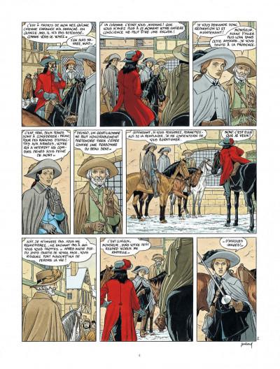 Page 4 Les 7 vies de L'épervier - 3ème cycle tome 1
