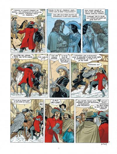Page 5 Les 7 vies de L'épervier - 3ème cycle tome 1