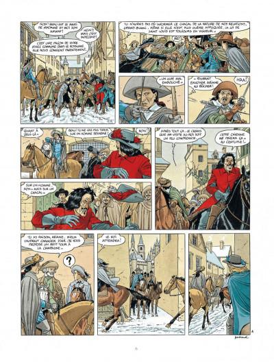 Page 6 Les 7 vies de L'épervier - 3ème cycle tome 1