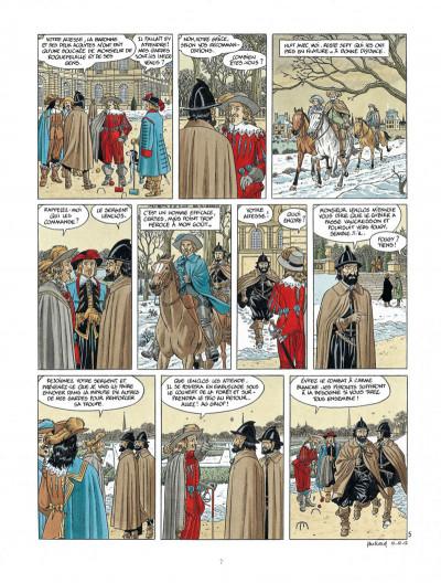 Page 7 Les 7 vies de L'épervier - 3ème cycle tome 1