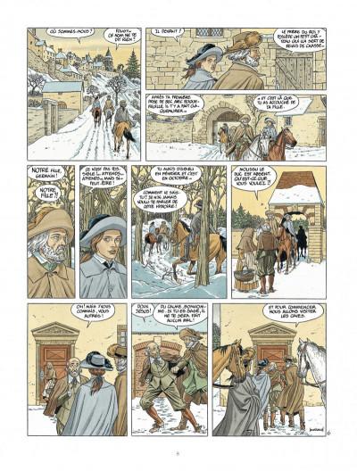 Page 8 Les 7 vies de L'épervier - 3ème cycle tome 1