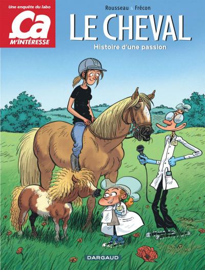Couverture Ça m'intéresse tome 2 - Le cheval