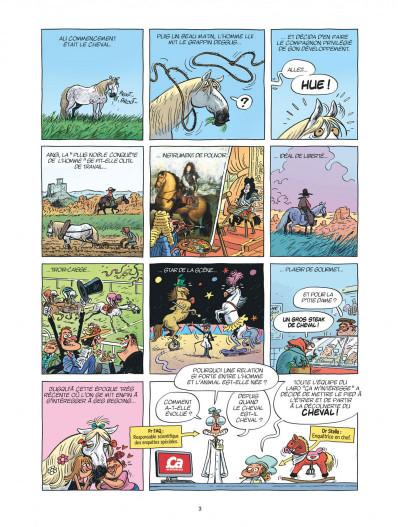 Page 3 Ça m'intéresse tome 2 - Le cheval