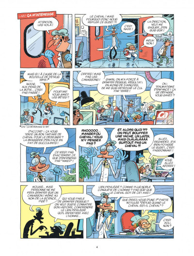Page 4 Ça m'intéresse tome 2 - Le cheval