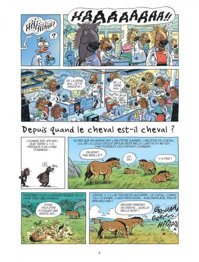 Page 5 Ça m'intéresse tome 2 - Le cheval