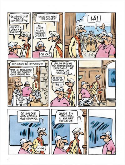 Page 4 Jack Palmer tome 15 - Palmer en Bretagne