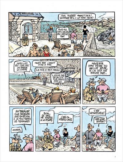 Page 7 Jack Palmer tome 15 - Palmer en Bretagne