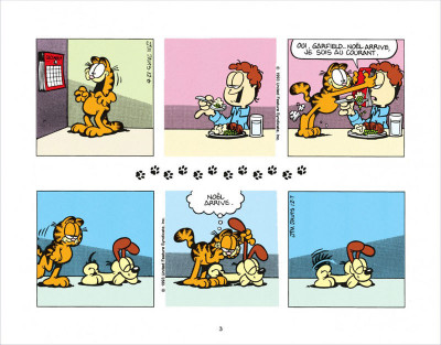 Page 3 Garfield s'emballe