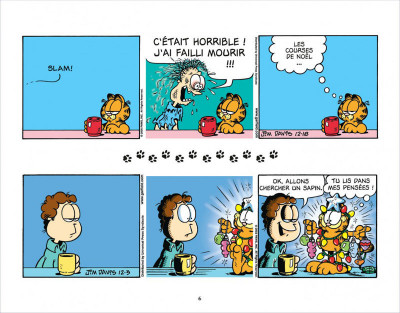 Page 6 Garfield s'emballe